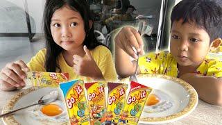 Adit Susah Makan Jadi Lahap Karena Makan Pakai GoVit!! Aktivitas Jadi Makin Semangat!