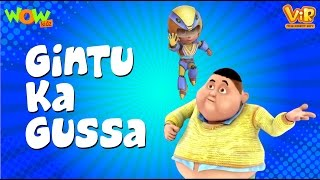 Vir The Robot Boy | Hindi Cartoon For Kids | Gintu ka gussa | Animated Series| Wow Kidz