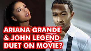 It Looks Like Ariana Grande and John Legend Are Teaming Up for a Beauty and the Beast Duet