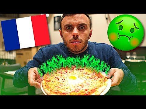 LA PIZZA di PARIGI FA SCHIFO?!!!