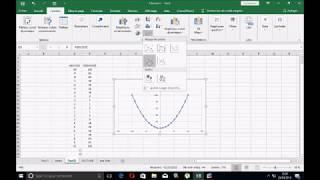 Excel comment representer les courbes
