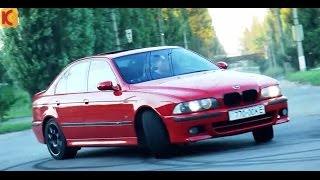 BMW M5 E39 Тест-драйв (100%М)(Ссылка по вопросам монетизации ютуба https://youpartnerwsp.com/join?31214 Следующий тест CAMARO 5.7 Z28 VS 3.4 на турбе по ссылке..., 2015-08-07T21:38:42.000Z)