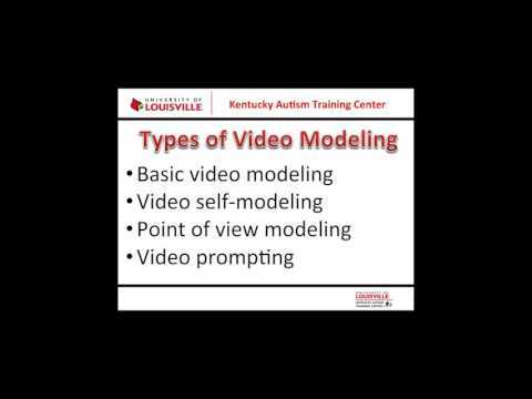 Using Video Modeling with Individuals with Autism Spectrum Disorders