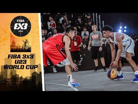 Philippines def. China, 21-15 (HIGHLIGHTS) FIBA 3x3 U23 World Cup 2018