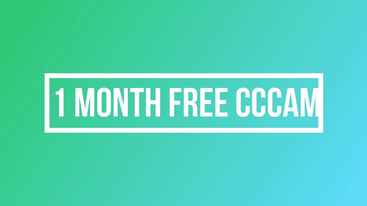 HOW TO 1MONTH FREE CCCAM 10JULY 2019 - Самые лучшие видео