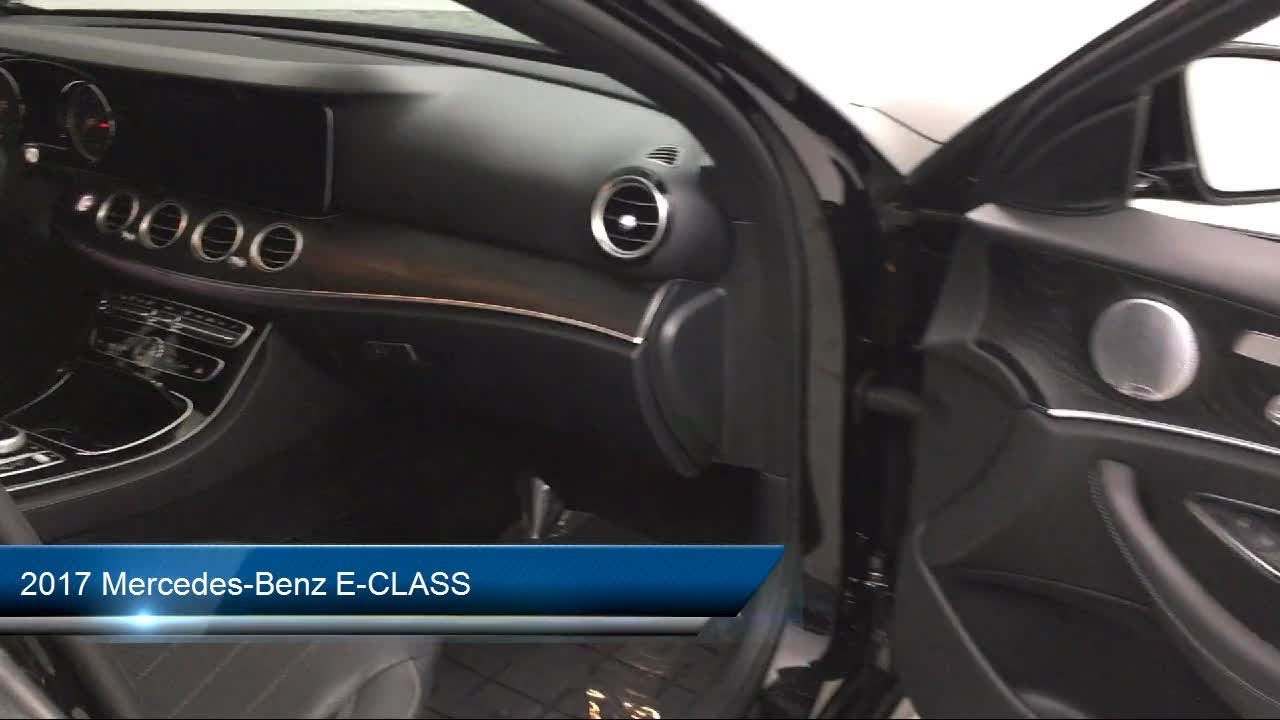 2017 Mercedes-Benz E-CLASS Des Moines Urbandale Newton ...