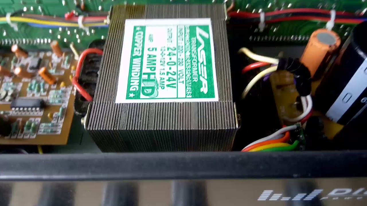 5 1 Amplifier 400 Watts Stk 4141 Stk 4191 Youtube