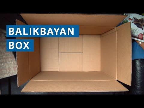 What's a balikbayan box?