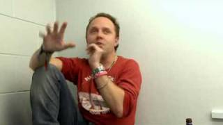 Lars ulrich of Metallica declares Iron Maiden more cool than any1.avi