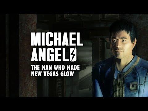 Michael Angelo: The Man Who Made New Vegas Glow - Fallout New Vegas Lore