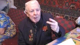 Ветеран Великой Отечественной войны Бедарев