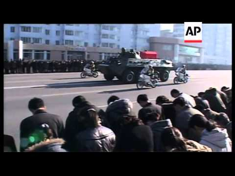 Funeral of top NKorean military official