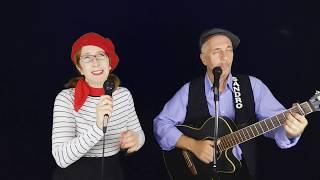 Gambar cover Tamara and Sandro Eristavi - popular French songs.