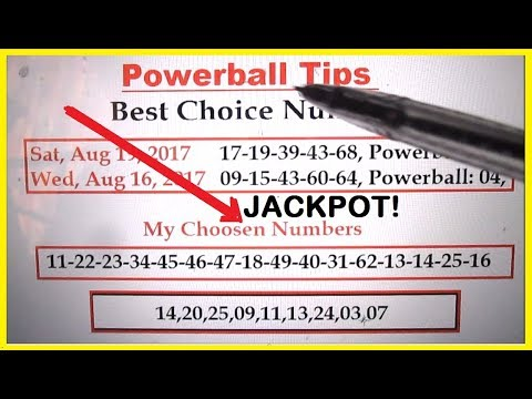Powerball Lottery Tips - Best Choosen Numbers for 2nd Largest Jackpot in History