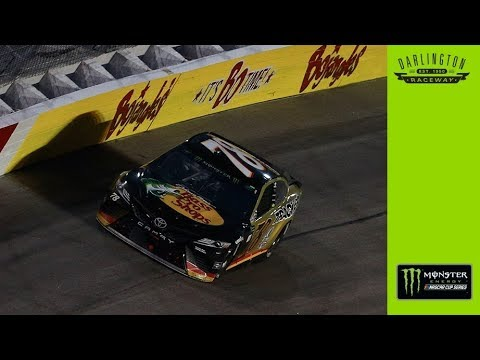 Truex reacts to Darlington disappointment