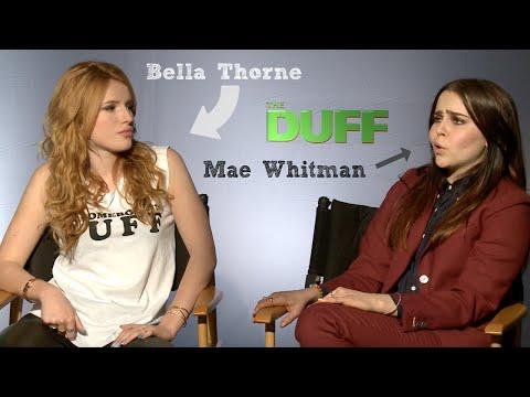 "Bella Thorne & Mae Whitman sing ""Blank Space"" #theduff"