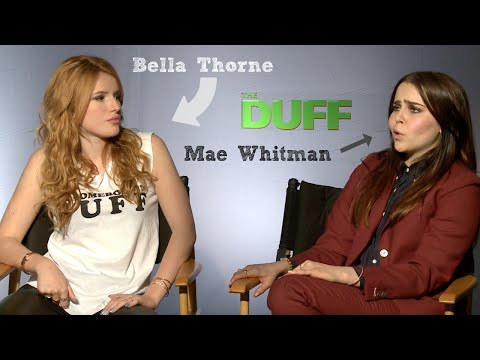 Bella Thorne & Mae Whitman sing
