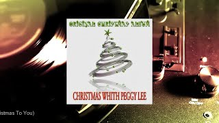 Peggy Lee - Christmas With Peggy Lee