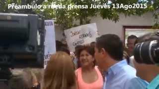 Jorge Acevedo Alcalde de Cúcuta 2016-2019 recibe un saludo de los uribistas colombo venezolanos