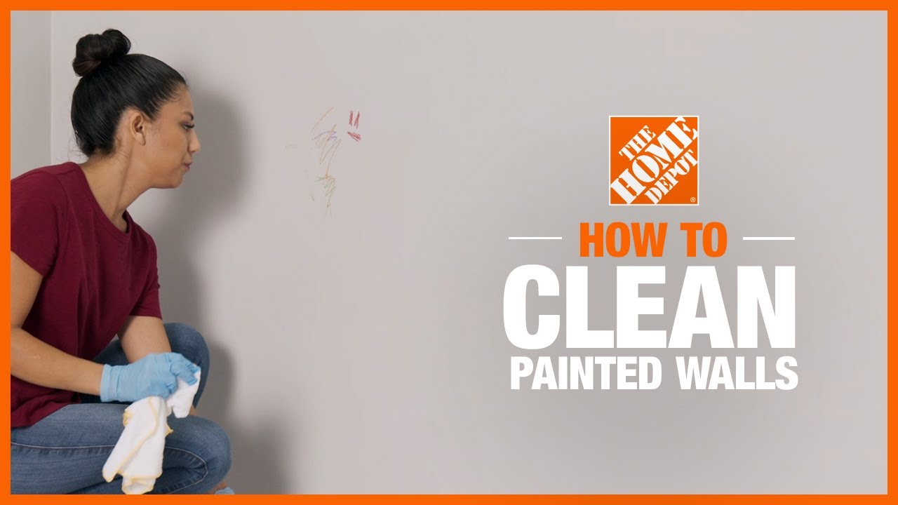 How to Clean Painted Walls  The Home Depot