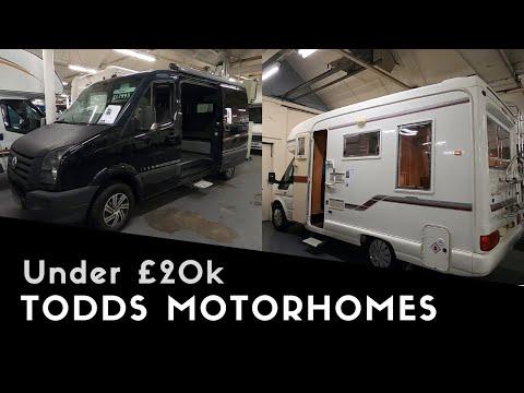 two-motorhomes-under-£20k- -todds-motorhomes