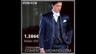 8bddce0694 Traje de novio italiano barroco azul modelo 1259 Ottavio Nuccio Gala. by  Trajes de Novio Ottavio ...