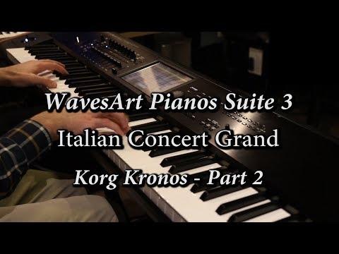WavesArt Korg Kronos Italian Grand   Part 2