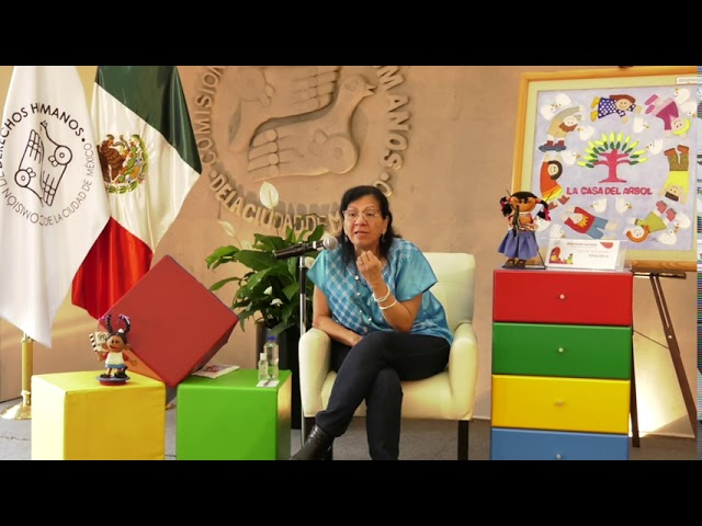 Discurso Presidenta de CDHCM, en presentación Consulta Infancias Encerradas en la Alcaldía Iztacalco