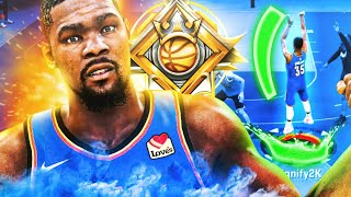 LEGEND KEVIN DURANT BUILD is OVERPOWERED in NBA 2K20