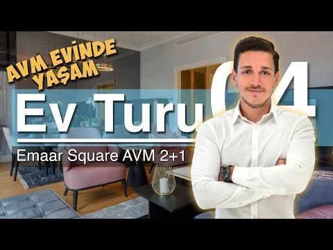 EV TURU   Emaar Square AVM'de 2+1 Lüks Daire Turu