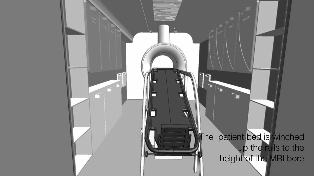 A transportable MRI machine to speed up the diagnosis and