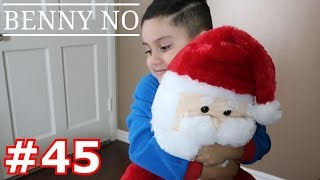 LUMPY OPENS HIS CHRISTMAS PRESENTS | BENNY NO | VLOG #45
