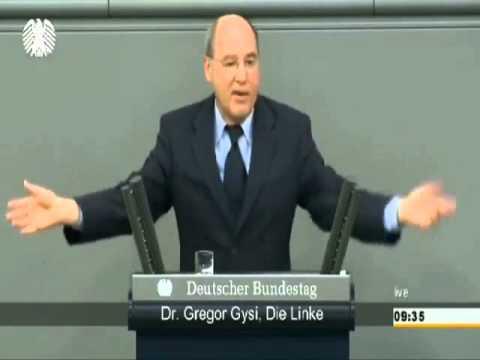 Немецкий депутат выступил