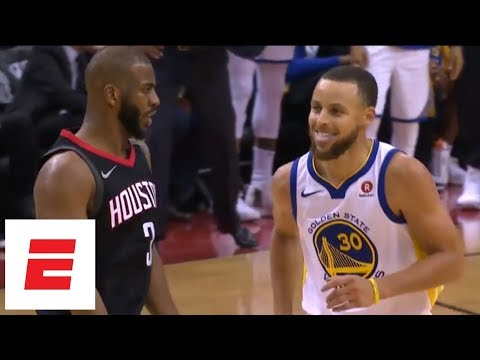 chris-paul-hits-3,-shimmies-all-over-stephen-curry-during-game-5-of-rockets-vs.-warriors-|-espn