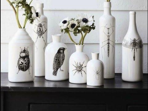 30 идей декора бутылок своими руками