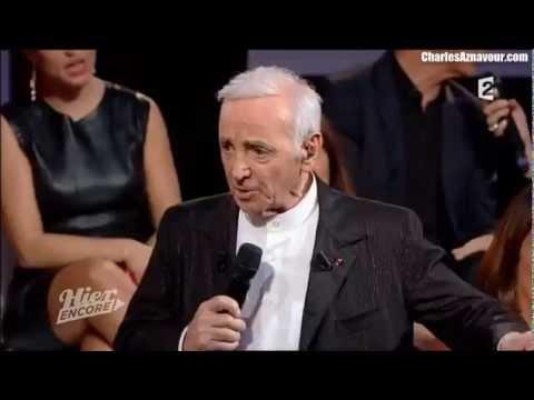 Charles Aznavour - Le petit vin blanc (Lina Margy)