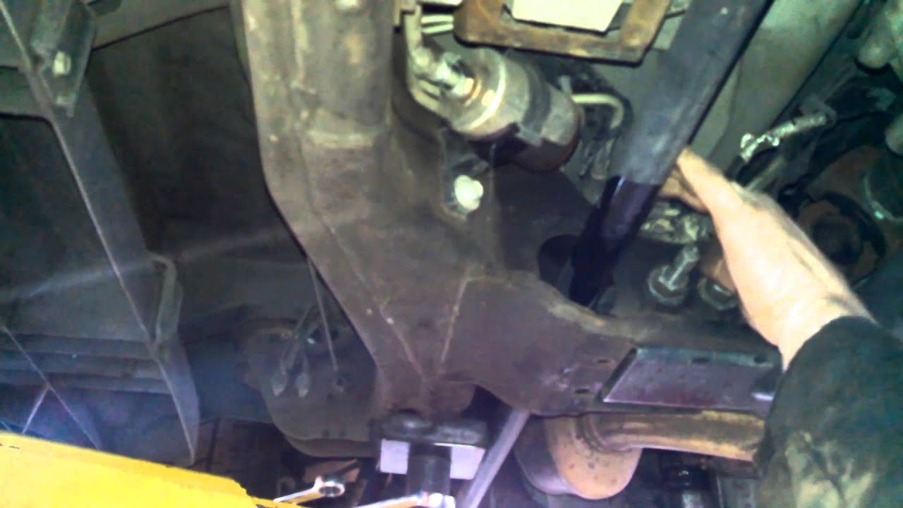 small resolution of fuel filter replacement 2003 chevrolet suburban 5 3l install remove replace how to change youtube