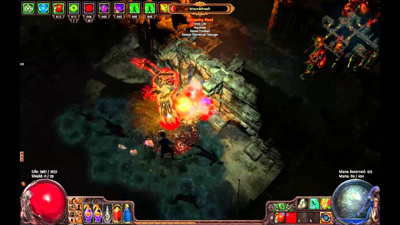 insta life leech dual claw path of exile youtube. Black Bedroom Furniture Sets. Home Design Ideas
