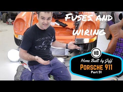 New fuse panel, and a cracked windscreen - Porsche 911 Classic Car Build Part 51