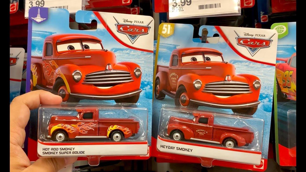 Disney Pixar Cars Hot Rod Smokey Pickup Truck