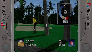 World Cup Golf: Professional Edition - PS1/PSX/PSOne - Retroarch 1080p