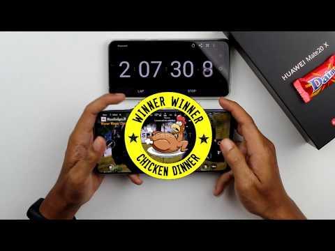 Huawei Mate 20X PUBG 100% - 0% Battery&Heating Test