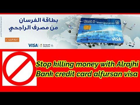 How To Stop Credit card of Al rajhi alfursan visa card