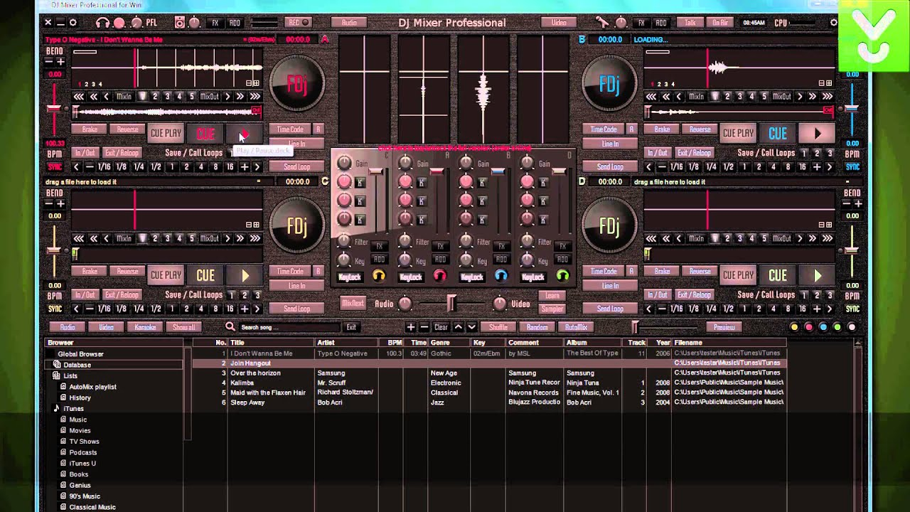 Dj Mixer Professional Mix Your Music And Video Download Video Previews Youtube
