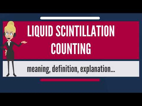 liquid scintillation counting carbon dating