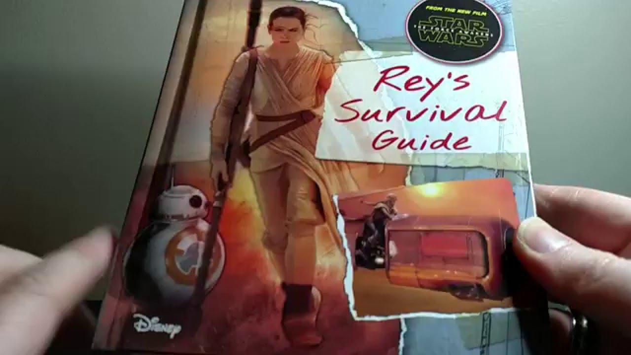 Star wars: the force awakens: rey's survival guide | book by jason.