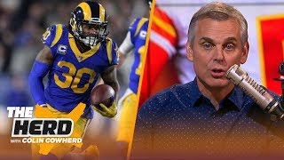 Colin Cowherd revises his AFC and NFC predictions, stands by Andrew Luck's decision | NFL | THE HERD
