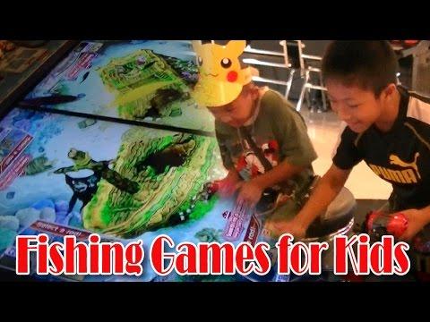 Fishing Games for Kids เย่อกับปลาสุดมันส์!!