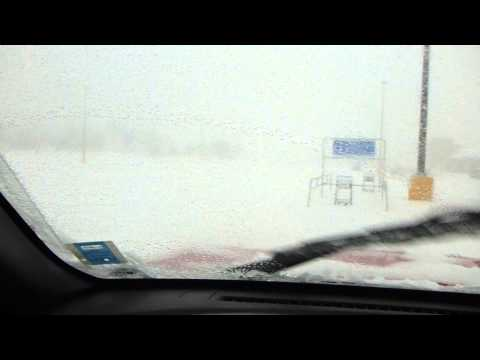 Jan 22nd 2014 Snowstorm Greenwood Nova Scotia Part I Waiting At Walmart