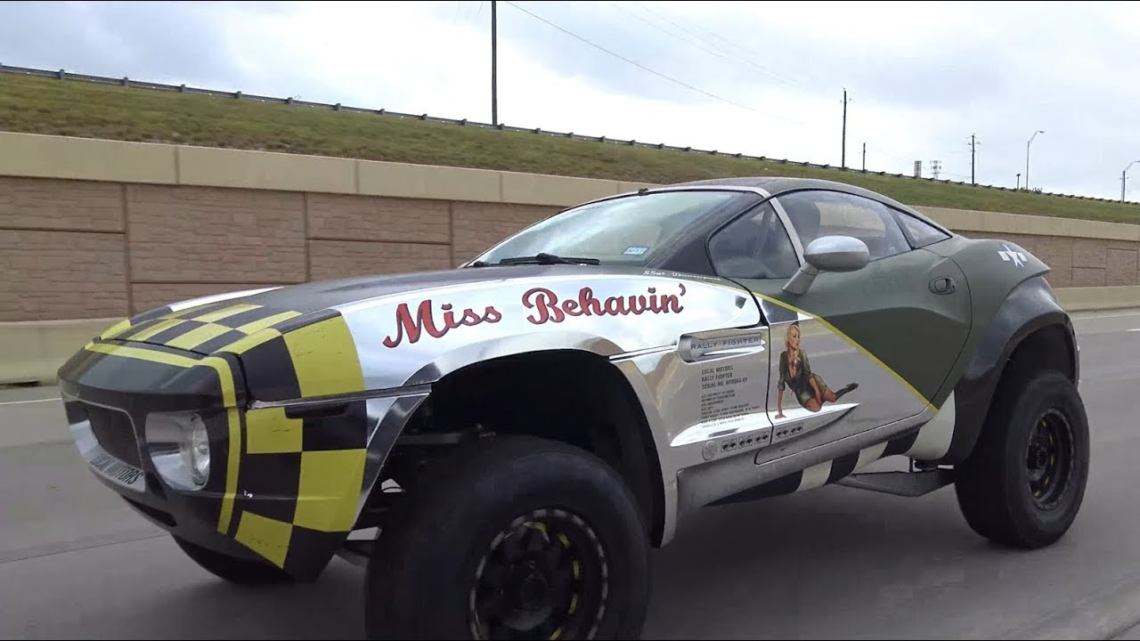 Local Motors Rally Fighter >> Miss Behavin Iconic Local Motors Rally Fighter Is For Sale